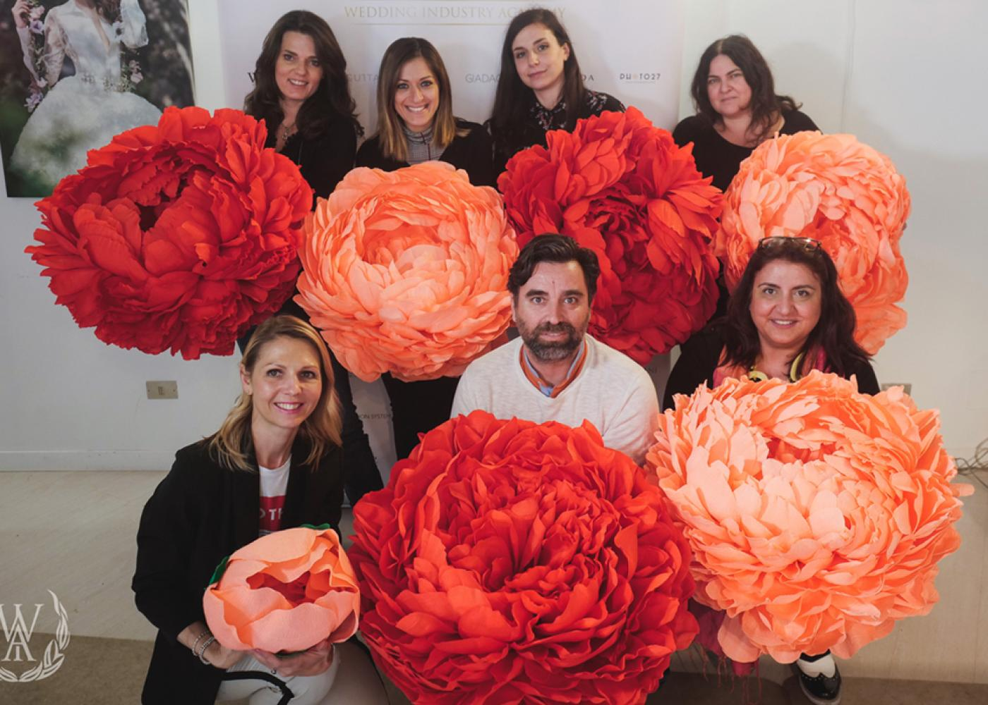 Corso Giant Paper Flower